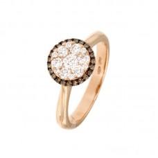 Anello con diamanti - 100011R50R