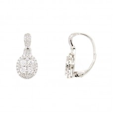 Orecchini con diamanti - 100657EW