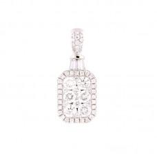 Pendente con diamanti - 100675PW
