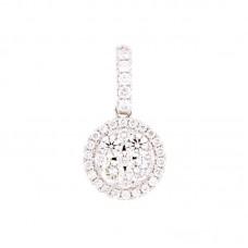 Pendente con diamanti - 100845PW