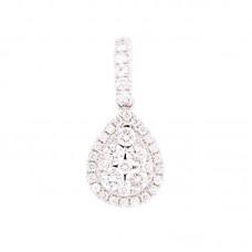 Pendente con diamanti - 100890PW