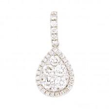 Pendente con diamanti - 100895PW
