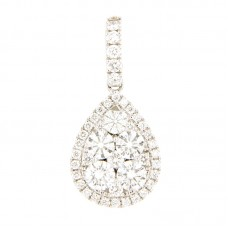 Pendente con diamanti - 100900PW