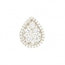 Pendente con diamanti - 123630PW