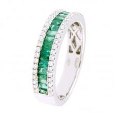Anello con diamanti e pietre naturali - 12476R03W