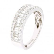 Anello con diamanti - 12502RW