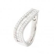 anello con diamanti - 12603RW