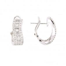Orecchini con diamanti - 12622EW