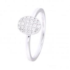 Anello con diamanti - 130205RW