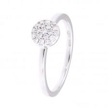 Anello con diamanti - 130206RW