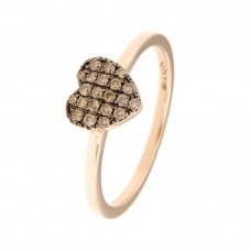 Anello con diamanti - 130207R50R