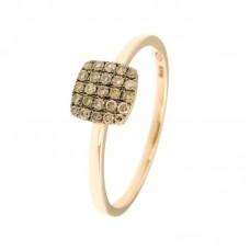 Anello con diamanti - 130553R50R