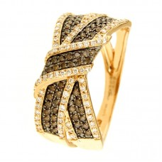 Anello con diamanti - 132XA00866-TBDR