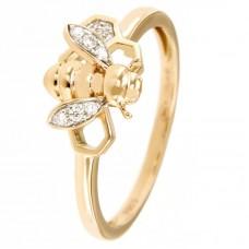 Anello con diamanti - 182XA00018-DR(R)