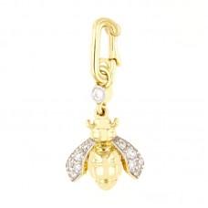 Pendente con diamanti - 183XD00767-DN