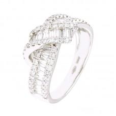 Anello con diamanti - 24042RW