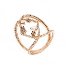 Anello con diamanti  - 270375R50R