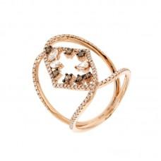Anello con diamanti  - 270385R50R