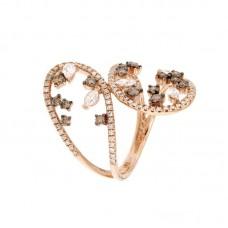 Anello con diamanti  - 270400R505R