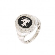 Anello con diamanti - 325717RW
