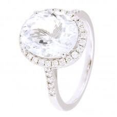 Anello con diamanti e pietre naturali - 326362R02ACM