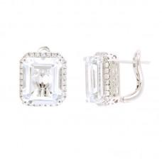 Orecchino con diamanti e pietre naturali - 326371E02ACM