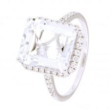 Anello con diamanti e pietre naturali - 326372R02ACM