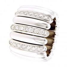 Anello con diamanti - ARC032-15AC