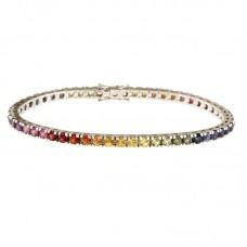 Bracciale con diamanti e pietre naturali - B5-1000RW-1CF