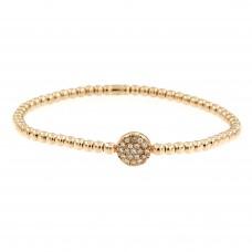Bracciale con diamanti - BRE15/03-16