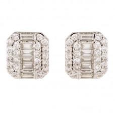 Orecchino con diamanti - BS200436ER