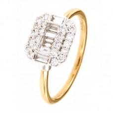 Anello con diamanti - BS200436RL-G