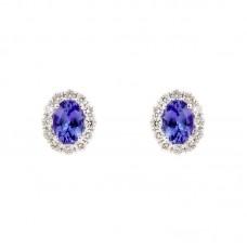 Orecchini con diamanti e pietre naturali - BS27414EB-13R