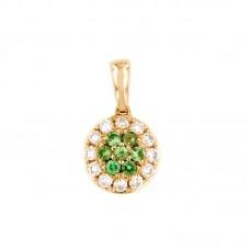 Pendente con diamanti e pietre naturali - BS27768P-34(S)