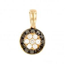 Pendente con diamanti - BS27768P-34
