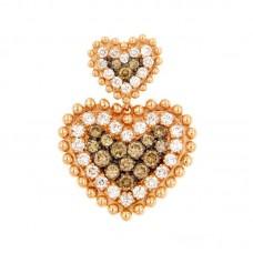 Pendente con diamanti - BS28469P