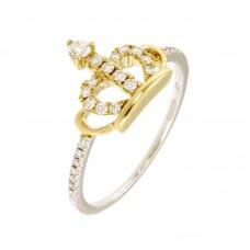 Anello con diamanti - BS28516RG