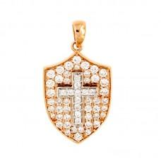 Pendente con diamanti - BS28913P