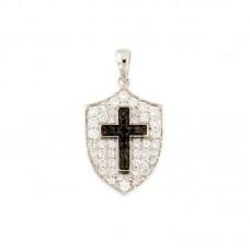Pendente con diamanti - BS28913PC