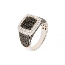 Anello con diamanti - BS30299RE