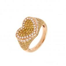 Anello con diamanti  e pietre naturali - BS30302RC