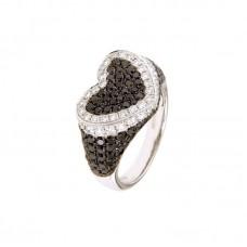 Anello con diamanti - BS30302RE