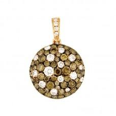 Pendente con diamanti - BS30821P