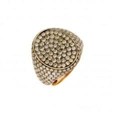 Anello con diamanti  e pietre naturali - BS31305R_A1