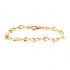 Bracciale con diamanti - CT123-150
