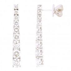 Orecchino con diamanti - E3591-4CD