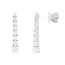 Orecchino con diamanti - E3633-3CD