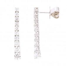 Orecchino con diamanti - E3633-B-3CD