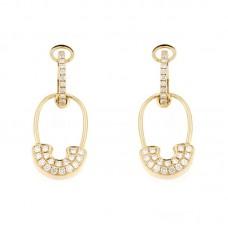 Orecchini con diamanti - E40731-2