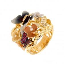 Anello con diamanti - G1091-1R